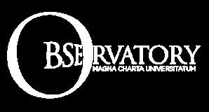 Logo Oberservatory Magna Charta Universitatum